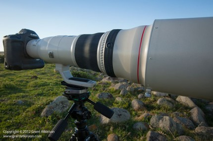 Canon EF 800 f/5.6 L IS USM Telephoto lens