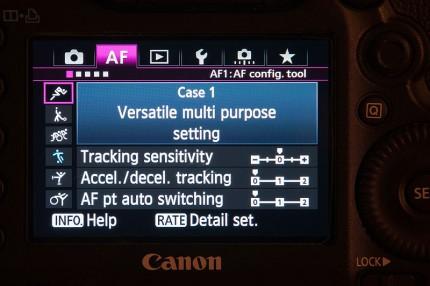 Grant Atkinson Canon 5D3 autofocus menu