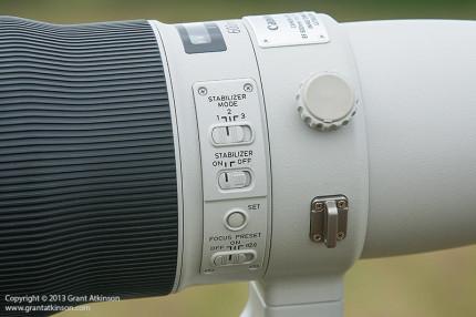 Canon 600 f4 L IS ii Tripod ring and locking knob