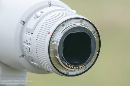 Canon EF 600 f4 L IS ii lens mount.