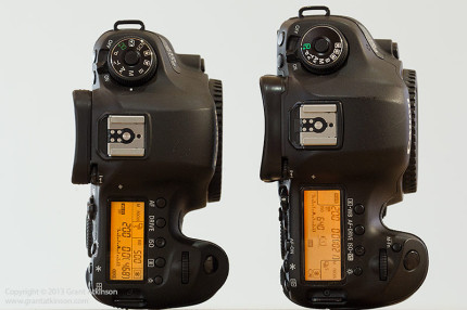 Canon 6D (left) and Canon 5Dmk3 (right)