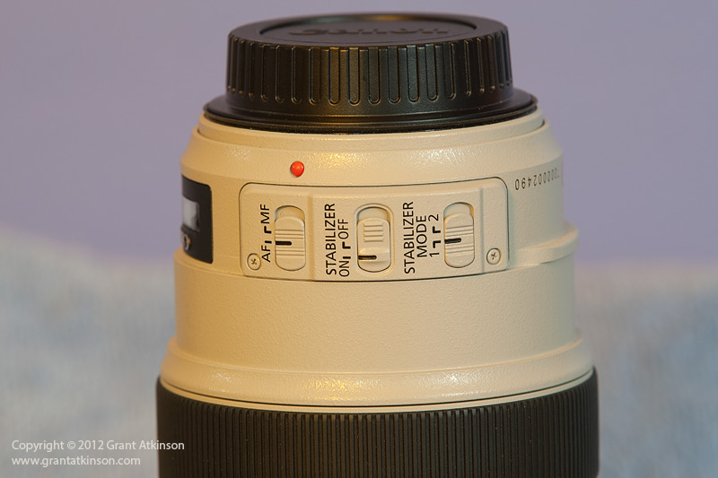 Image Stabilization switches Canon lens