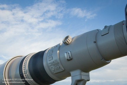 Canon EF 800 f/5.6 L IS USM below