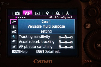 Making the most of Canon's new autofocus - 5Dmk3 and 1DX