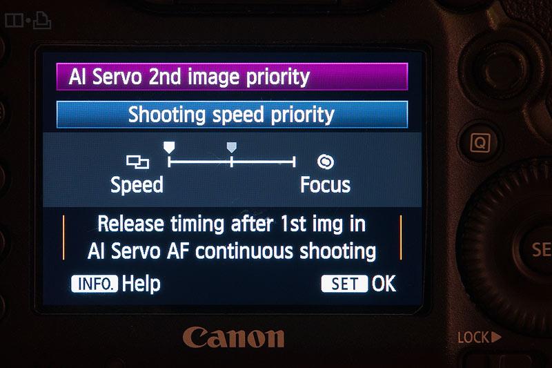 Grant Atkinson Canon 5d3 rear screen Ai servo menu