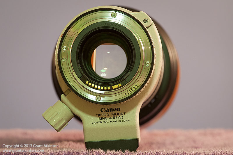 Lens mount Canon EF 70-200 f4 L IS