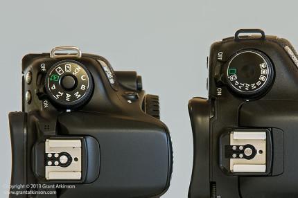 Canon EOS 70D and Canon EOS 7D, Compared